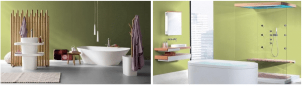 retrofit bathroom glass panels