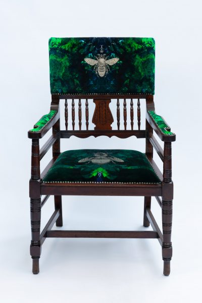 Double Bee Tourmaline Chair