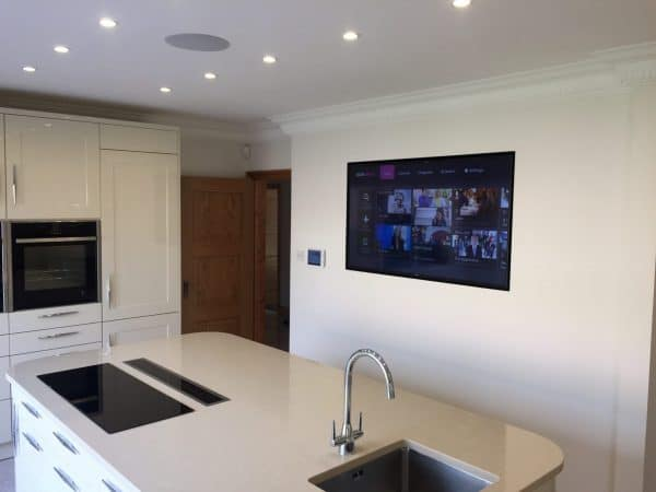 Kitchen Tv Wall mounted