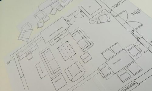 thumbnail space planning with templates